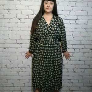 Dresses & Skirts - 80s / 90s Lesley Fay Belted Dress WITH pockets